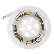 BRELONG LED Digital Bed-lighting Motion Sensor Light Strips Kit with Power Supply Activated Automatic Sensor LED Night Bed Light with Timer for Bed