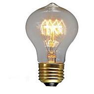 40w nostalgie e27 schroef warm witte lamp