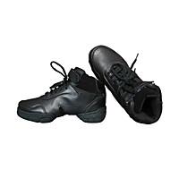 Sapatos de Dança(Preto) -Feminino-Personalizável-Botas de Dança
