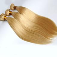 Człowieka splotów włosów Włosy brazylijskie Düz 3 elementy sploty włosów
