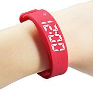 Smart Bracelet Okos karkötőVízálló Hosszú készenléti idő Elégetett kalória Lépésszámlálók Sportok Ébresztőóra Távolságmérés Alvás követő