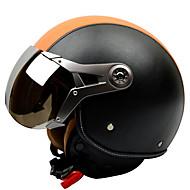 GXT g-288 motocyklové helmy letectvo retro helmu zajíc helma proti zamlžování prodyšný poloviny helma