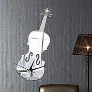 Музыка Мода Геометрия Наклейки Зеркальные стикеры Декоративные наклейки на стены Наклейки для часов,Винил материал Украшение домаНаклейка