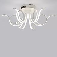 Montagem do Fluxo ,  Contemprâneo Prateado Característica for LED Estilo Mini AlumínioSala de Estar Quarto Sala de Jantar Cozinha Quarto
