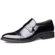 Men's Loafers & Slip-Ons Spring Summer Fall Winter Comfort Formal Shoes Leather Outdoor Office & Career Casual Party & Evening Flat Heel