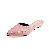 Women's Flats Spring Summer Comfort PU Casual Low Heel Others Black Yellow Pink Red Gray Other