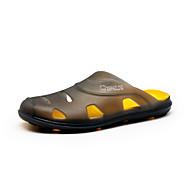 Γυναικεία παπούτσια-Σανδάλια-Ύπαιθρος Καθημερινό-Επίπεδο Τακούνι-Ανατομικό-PU-Μπλε Καφέ Πράσινο Γκρι