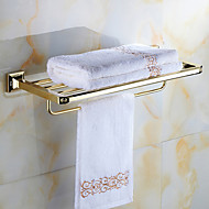 Prateleira de Banheiro / DouradaLatão /Contemporâneo