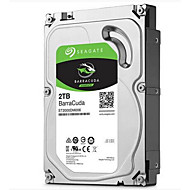 Seagate 2TB Desktop Hard Disk Drive 7200rpm SATA 3.0 (6 Gb / s) 64MB CacheBarraCuda