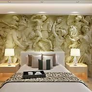 아트 데코 3D 홈 벽지 콘템포라리 벽 취재 , 캔버스 자료 접착제가 필요 벽화 , 룸 Wallcovering 협력