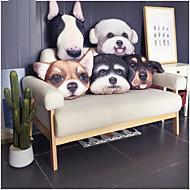 1 pcs Cotton Velvet Novelty Pillow,Animal Print Casual