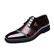 Men's Oxfords Spring Summer Fall Winter Comfort Formal Shoes Leatherette Outdoor Office & Career Casual Party & Evening Flat Heel Lace-up