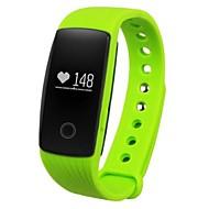 ID107 Smartarmbånd Vannavvisende Kalorier brent Pedometere Sundhetspleie Sport Pulsmåler Berøringsskjerm Søvnsporing InformasjonBluetooth