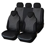 מושב לכסות את מכונת עור autoyouth pu 7pcs האוניברסלי מתאים מושב מכסה המכונית סטיילינג המכונית משענת הראש פריק אי