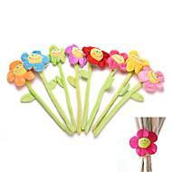 1ks záclonové spony pod spony flexibilní závěs tieback držák holdback Roztomilý kreslený květ