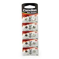 Camelion AG4 pilha alcalina botão célula moeda 1.5v 10 pack