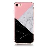 のために IMD パターン ケース バックカバー ケース マーブル ソフト TPU のために AppleiPhone 7プラス iPhone 7 iPhone 6s Plus/6 Plus iPhone 6s/6 iPhone SE/5s/5 iPhone 5c