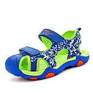 Sandale Proljeće Ljeto Jesen Udobne cipele Svjetleće tenisice Mikrovlakana Aktivnosti u prirodi Ležeran Atletika Kopčanje na kukicuPlava