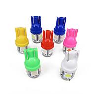 1000x t10 2,5 W led lamppu 500kpl valkoinen led 100kpl vihreä led 100kpl punainen led 100kpl keltainen led 100kpl sininen led 100kpl