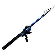 חכה חכת  Telespin FRP 270 M דיג כללי גלילי דיג+ חכות דיג כחול-Other