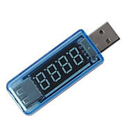 mini-usb carregador médico corrente de carga de tensão detector usb atual de energia móvel e voltímetro amperímetro carregador de tensão