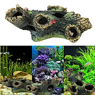 Akvaario Sisustus Puu Hartsi
