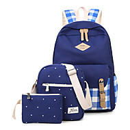 Women Canvas Sports Casual Outdoor Shopping Backpack All Seasons