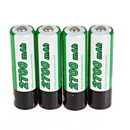 Soshine 2PCS RCR123 16340 Battery 700mAh 3.7V Rechargeable Lithium Li-ion Battery  with Battery Case Storage Box Set