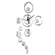 Moderne/Contemporain Inspiré Horloge murale,Nouveauté Acrylique 39.75*24*1.25 Horloge
