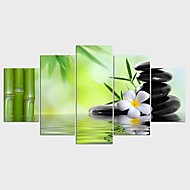 Afdrukken Op Opgespannen Doek Landschap Stijl Modern,Vijf panelen Canvas Elke vorm Print Art Muurdecoratie For Huisdecoratie