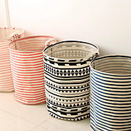 Storage Boxes Storage Bags Storage Baskets Textile with Feature Is Open  For Underwear Cloth Random Pattern And Color