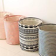 Caixas de Armazenamento Sacos de Armazenamento Cestos de Armazenamento Têxtil comCaracterística é Aberto , Para Roupa-Interior Tecido