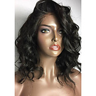 Short Human Hair Lace Wigs Brazilian Lace Front Human Hair Wigs Bob Wave Wigs 100% Virgin Human Hair Wig with Baby Hair