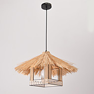 12 Pendant Light ,  Vintage Others Feature for Designers Wood/Bamboo Dining Room Study Room/Office Entry Game Room Hallway