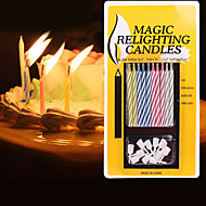 Fashion Birthday Magic Relighting Candles Birthday Candles Environmental