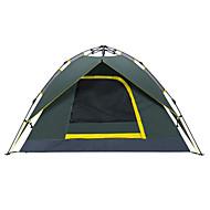 Makino 3-4 persone Tenda Doppio Tenda automatica Una camera Tenda da campeggio 2000-3000 mm OxfordImpermeabile Traspirabilità Asciugatura