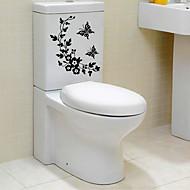Komiks Abstraktní Samolepky na zeď Samolepky na stěnu Ozdobné samolepky na zeď Samolepky na toaletu,Papír Materiál Home dekoraceLepicí