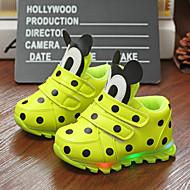 Черный Желтый Пурпурный-Дети-Для прогулок Повседневный-Лакированная кожа-На плоской подошве-Удобная обувь-На плокой подошве