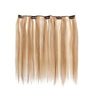5 leikkeet 14 tuuman clip ihmisen hiusten pidennykset 31g korostettu suorat hiukset
