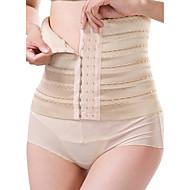 Maternity Postpartum Shaper Slimming Underwear Corset Girdle Hook Belt Waist Women's Sexy Solid-Medium Nylon Beige/Black