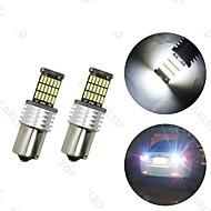 4x 1156 P21W RV Camper LED Interior Light Bulb BA15s White 45 4014 SMD  12V-24V