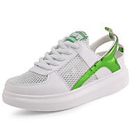 cipők nyári őszi kényelem tüll szabadtéri atlétikai alkalmi fehér / zöld, piros / fehér, fekete és fehér