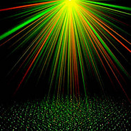 Hl-10 LED Green/Red Voice Control /Automatic Laser Stage Lamp