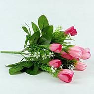 1 Tak Zijde Tulpen Kunstbloemen 33