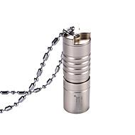 תאורה פנסים למחזיק מפתחות LED 150 Lumens 2 מצב XP-G2 USB כפתור סוללת ליתיום עמיד למים ניתן לטעינה מחדש גודל קומפקטי גודל קטן