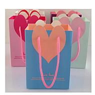 Ystävänpäivä lahja laukku lahjapussi pystysuora salaisen puutarhan alkuperäisen paperipussit kosmetiikkaa pussi cb15-03