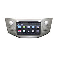 Autoradio 2 Din Car DVD Player Pure Android 4.4.2 GPS Radio for Lexus Rx300 Rx330 Rx350 Rx400h Toyota Harrier 7inch Dual Core 3G WIFI 1g DRR3 1.7GHZ