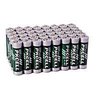 Pkcell R6P AA Carbon Zinc Dry Battery 1.5V 60 Pack Super Heavey Duty
