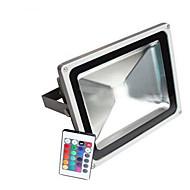 ac 85 - 265V 10W 900lm vandtæt spotlight med fjernbetjeningen natlys