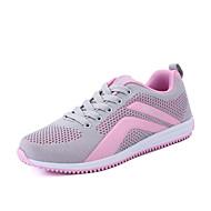 Dame-Tyll-Flat hæl-Komfort par Sko-Treningssko-Friluft Fritid Sport-Fuksia Navyblå Rosa Marineblå
